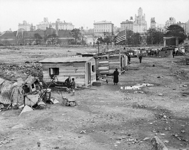 Ranchos en Central Park, Nueva York, 1931