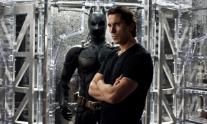 Christian Bale en The Dark Knight Rises.