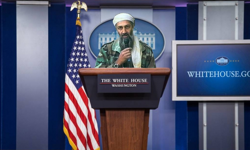 Mr. Bin Laden Va a Washington